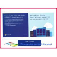 Buy cheap Lifetime Warranty Windows Sever 2016 Standard OEM Pack Genuine 32bit product