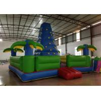 Buy cheap Durable Inflatable Rock Climbing Wall Trees Digital Printing 7 X 7m Safe Nontoxic from wholesalers