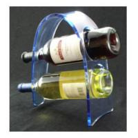 Buy cheap Transparent Acrylic Wine Bottle Display Rack , Plexiglass Bottle Holder product