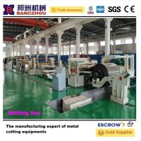 Buy cheap Hot sale new designing Stainless Steel Slitting Line Machine produced by bangzhou factory from wholesalers