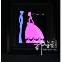 Buy cheap Led Resin Framed Arts & Crafts from wholesalers