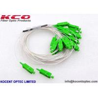 China FTTH 2x16 Fiber Optic Cable Splitter 2*16 Low PDL With SC/APC LC/APC Connector on sale