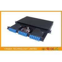 Buy cheap 1U Rack Mount MTP / MPO Patch Panel ,19 inch ODF Panel 3 Module  MTP to 12 x LC duplex from wholesalers