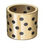 Buy cheap C95400 Aluminum Bronze Bushing , Oilless Sliding Cast Bronze Bushings MISUMI MPTZ20 28 25 33 30 38 from wholesalers