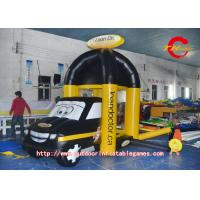 Buy cheap Custom PVC Inflatable Model Yellow Car Grab Money Machine For Promotion from wholesalers