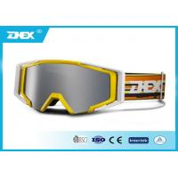 Buy cheap Anti ultraviolet radiation kids , mens snowboarding goggles for Winter sports from wholesalers