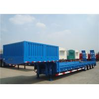 Buy cheap Multi - Axle 80T Extendable Semi Trailer With Dual Line Braking System from wholesalers