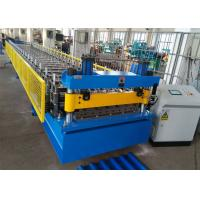 Buy cheap Color Coated Steel Roof Panel Roll Forming Machine, 6 Ribs Roofing Sheet Roll Former product