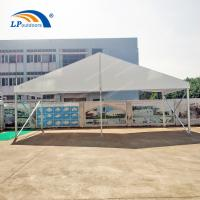 Buy cheap clear span 10 m PVC roof cover aluminum frame party tent for outdoors event from wholesalers