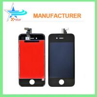Buy cheap White / Black iPhone LCD Screen Replacement , Capacitive iPhone 4 LCD Screen Assembly from wholesalers