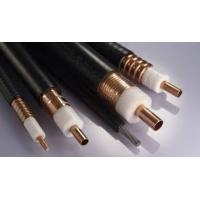 Buy cheap Coupling Leaky Feeder Cable For Metro Stations , 1-5 / 8 Inches Helix Copper Tube Radiating Cable from wholesalers