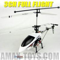 Buy cheap 3 Channel Alloy Aluminum RC Electric Helicopter RTF with Flashing LED Night Lights (RH-9812) from wholesalers