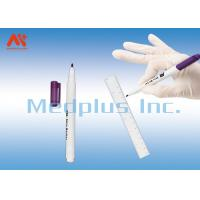 Buy cheap Gamma Ray Sterilization Medical Surgical Skin Marker Pen With The Clinical Operation from wholesalers