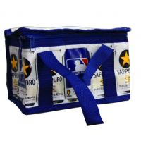 Buy cheap Navy Zipper Thermal Insulated Bags Aluminum Foil CMYK Printing Lunch cooler bag from wholesalers