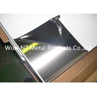 Buy cheap 304 Mirror Finish Stainless Steel Sheet 4x8 / 410 SS Plate 1219MM x 2438MM from wholesalers
