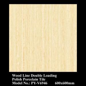 Buy cheap Wood Vein Double Loading series polish tiles PY-V6946 product