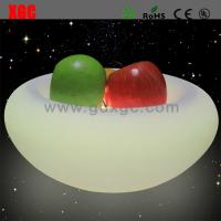 Buy cheap PE Material LED Cabinet / Luminous Fruit Plate For Nightclub Party from wholesalers