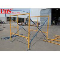 "High Strength Durable Ladder Frame Scaffolding For Hall / Bridges 4'×6'4"""