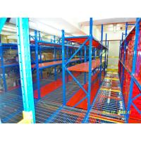 Buy cheap Utilizing Industrial Rack Supported Mezzanine With Powder Coat Paint Finish from wholesalers