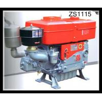 Buy cheap Horizontal 4 Stroke single cylinder diesel engine High Duty Combined Pressure & Splashing from wholesalers