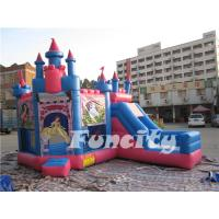 Buy cheap Princess Theme Inflatable Bouncy Castle Combo for Kids from wholesalers