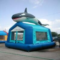 Buy cheap Animal Fish Commercial 0.55mm PVC Inflatable bouncer, Inflatable Bouncy House YHB-044 from wholesalers