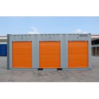 Buy cheap storage container,20ft storage container  with  rolling shutter door, customised color,China from wholesalers