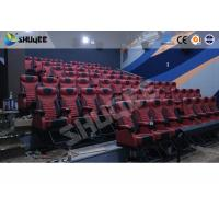 Buy cheap Large Mobile 4D Movie Theater Equipment , Motion Chairs With Comfortable from wholesalers