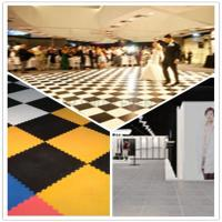 Buy cheap 3W Interlocking Plastic Iinyl Dance Flooring Tiles Patterns For Exhibitions Hall from wholesalers