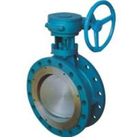 Buy cheap CS SS Dual Eccentric Butterfly Valve / Double Offset Butterfly Valve from wholesalers