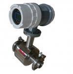 Buy cheap PTFE / Ebonite Material Industrial Flow Meter Electromagnetic Diameter 15 - 2000mm from wholesalers