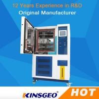 Buy cheap SUS # 304 Stainless Steel High And Low Temperature Test Chamber With Air Cooled Condenser from wholesalers