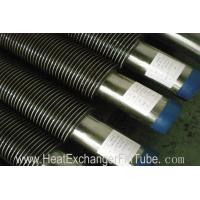 Buy cheap High Frequency Resistance Helical Steel Welded Fin Tubes SA213 T11 Alloy Steel + SS409 from wholesalers