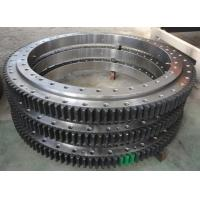 Buy cheap 50Mn, 42CrMo Cheap hot sale High quality Custom excavator slewing bearing from wholesalers