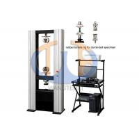 Buy cheap Computer control vulcanized rubber and thermoplastic rubber tensile stress-strain testing machine from wholesalers