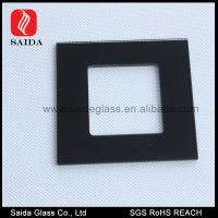Buy cheap 86MM Square decorative wall switch outlet cover plates frame window glass pane from wholesalers