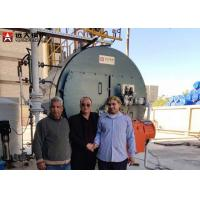 Buy cheap High Efficiency Gas Steam Boiler 10 Ton PLC Control For Sugar Factory from wholesalers