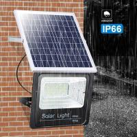 Buy cheap Ip65 Outdoor Solar Flood Light Remote Control For Yard , Garden product