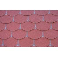 Buy cheap Eco decorative Fish Scale Asphalt Roof Shingles , Light Weight roof tile from wholesalers