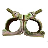 Buy cheap High Strength Tube And Clamp Scaffolding  Forged Swivel Clamp ROSH Certification product