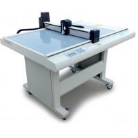 Buy cheap Thin PVC Flatbed Cutting Plotter , Adhesive Film Cutting Machine For Card Paper from wholesalers