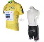 Buy cheap Saxo Bank Cycling Jersey + Cycling Bib Short from wholesalers