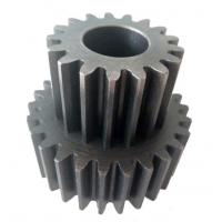 Buy cheap Small Sandblasting Steel Casting Components Helical Gear For Paper Shredder from wholesalers