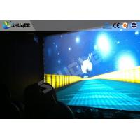 Buy cheap 4D Cinema System with snow rain motion chair with spray air / water to face product