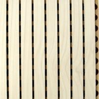Buy cheap Sound Absorption Grooved Acoustic Panel Conference Room Wooden Wall Panels from wholesalers