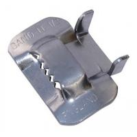 Buy cheap Piples Fixing Use Stainless Steel Strap Buckles , Metal Banding Clips BK Type from wholesalers