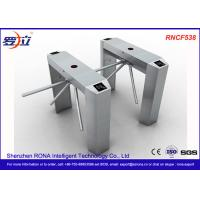 Buy cheap Semi Automatic Access Control Tripod Turnstile Gate Stainless Steel For Public Areas product
