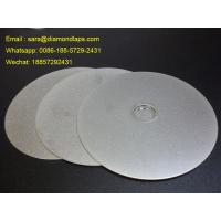 """Buy cheap 6"""" Grit 400 Diamond Flat Lap Disc with electroplated grinding surface for lapidary product"""