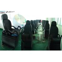 Buy cheap 3 DOF Platform Colorful Leather Pneumatic Control System Motion Theater Chair product