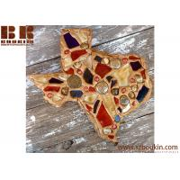 Buy cheap Texas Wall Art collage mosaic crafted handmade wooden wall art for decor from wholesalers